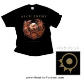 ARCH ENEMY -アーチ・エネミー- WILL TO POWER 「ウィル・トゥ・パワー」 エンブレム Tシャツ