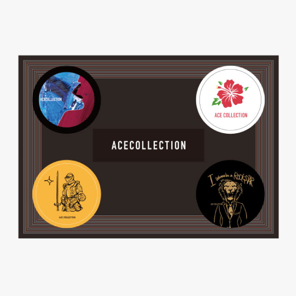 ACE COLLECTION:ACE COLLECTION ステッカーシート