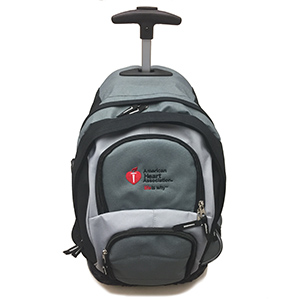ROLLING GREY/RED AHA BACKPACK