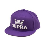 ABOVE SNAPBACK / PURPLE WHITE