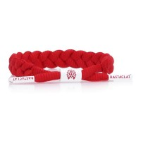 BRAIDED BRACELET / FIRE / RED